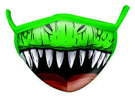 Dino Face Mask