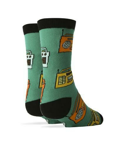 Play Dat Funky Music Socks