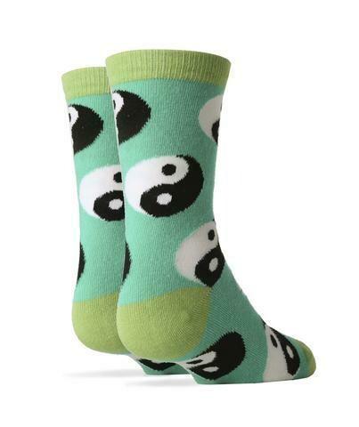 Yin Yang Fever Socks