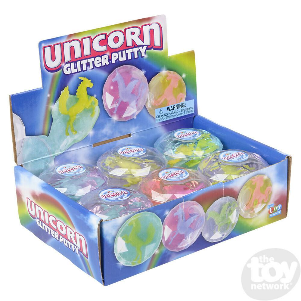 Unicorn Glitter Putty