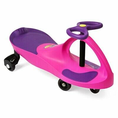 Pink Plasma Car