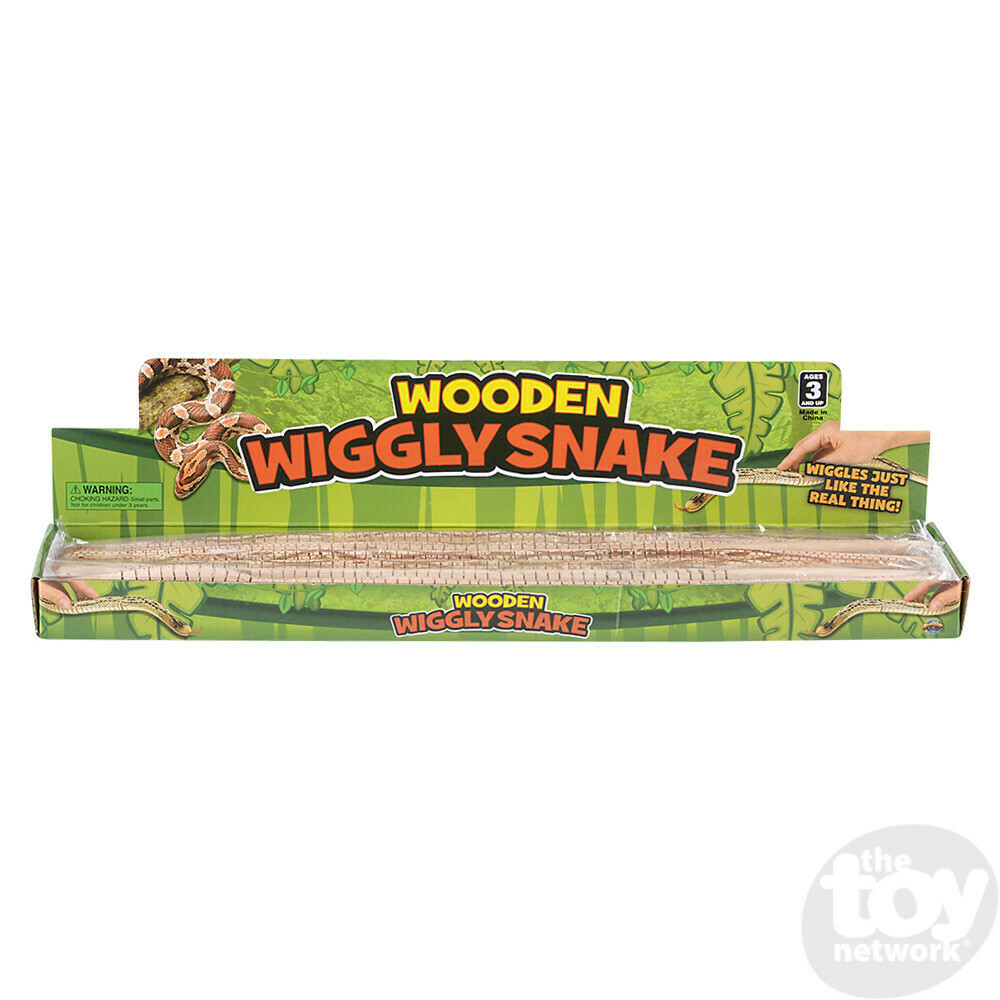 Wooden Wiggly Snake
