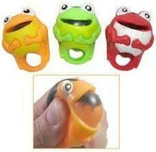 Squishy Frog Ring