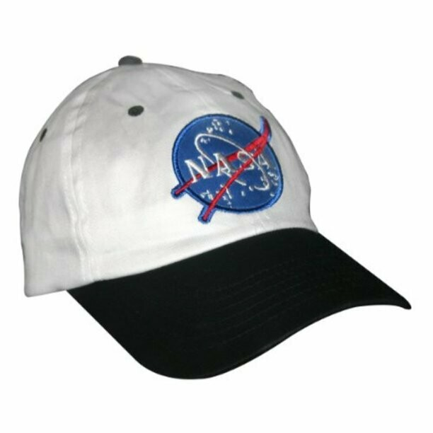 Astronaut White and Black  Cap