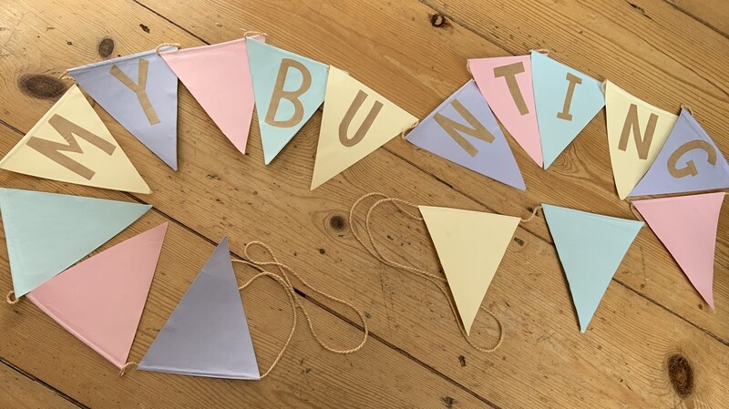 Personalised Bunting Kit