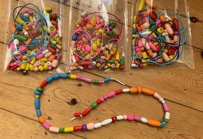 Wooden Bead Threading Kit