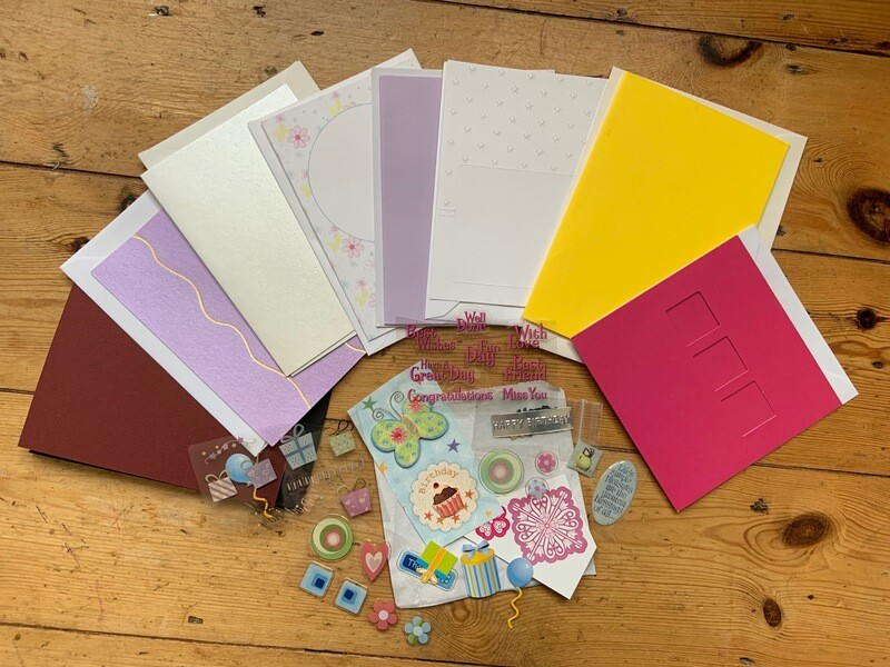 Make your Own Greeting Cards Pack