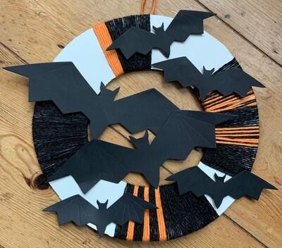 Halloween Wreath Kit