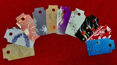 REcraft Christmas: reclaimed gift tags