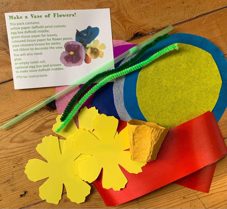 Make a Vase of Flowers!