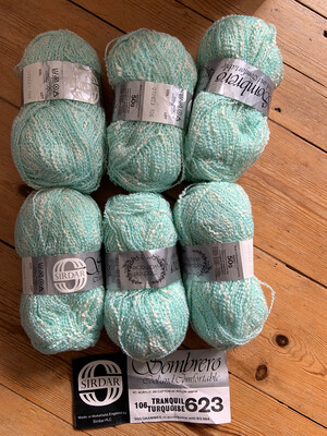 Yarn: Flecked With White Sombrero Cool and Comfortable
