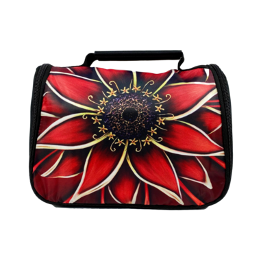 Red Daisy Travel Pouch