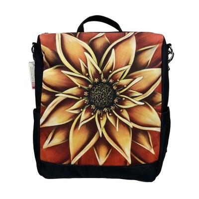 Persimmon Messenger Backpack
