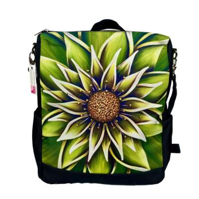 Peridot Messenger Backpack
