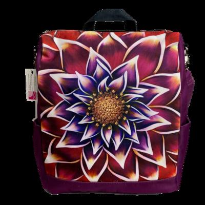 Gilded Messenger Backpack