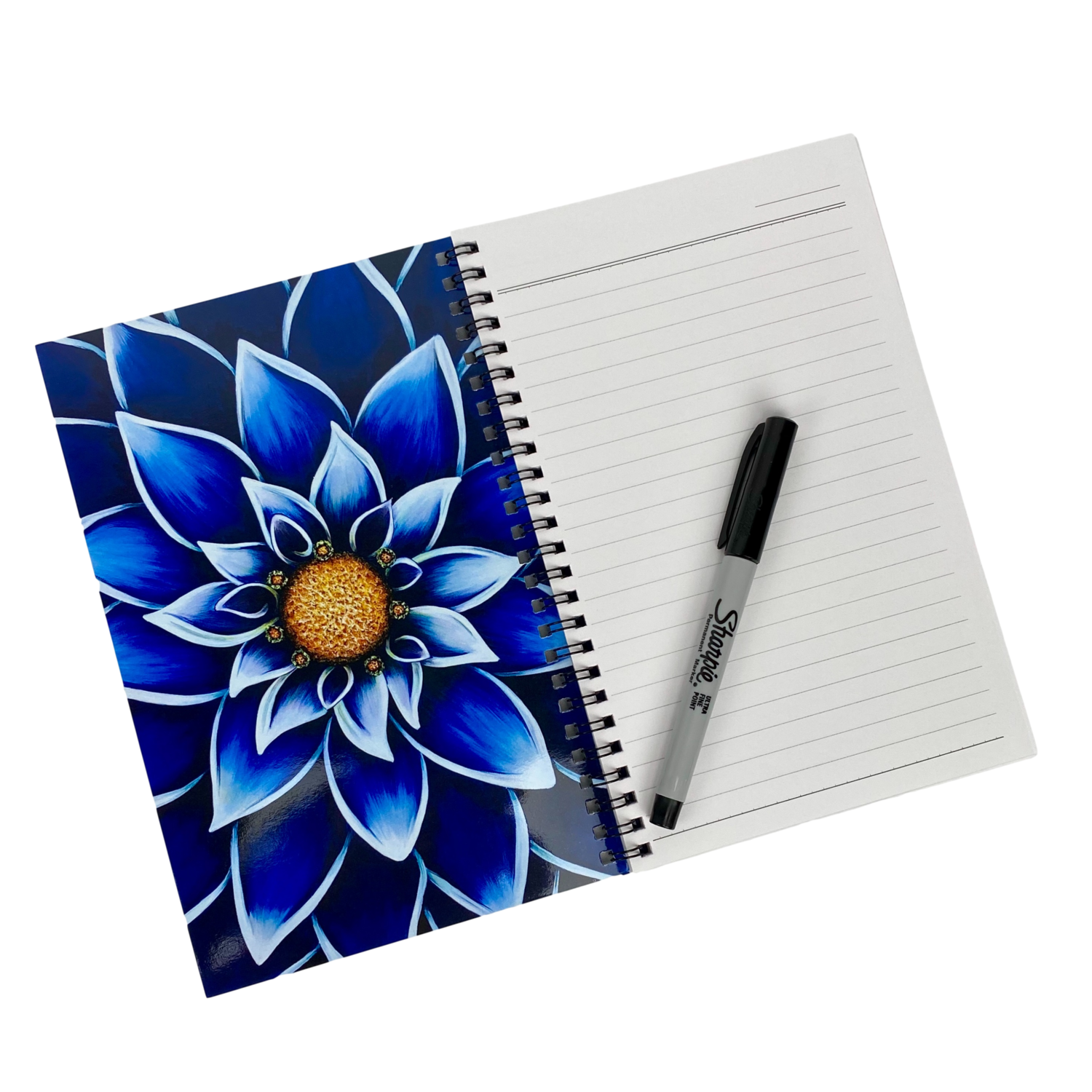 Into The Blue - Notebook