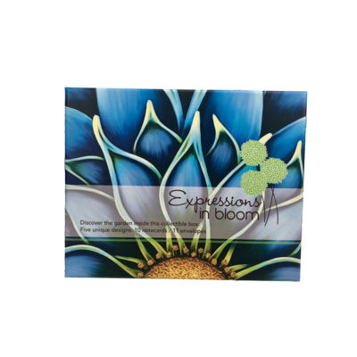 Blue Notecard Box Set