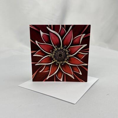Red Zinnia - Mini Cards