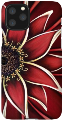 Red Daisy - Total Protection Phone Case