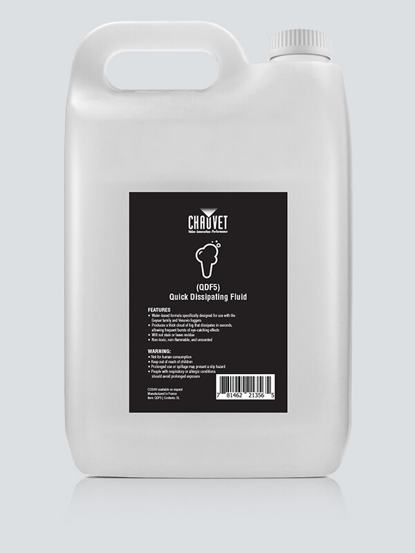 Chauvet DJ QDF5X4 Quick Dissipating Fluid - 4x 5 litres