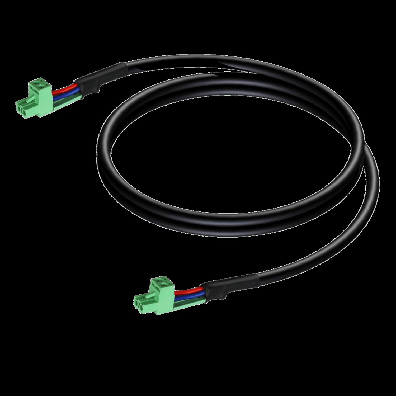Procab CLA530/0.5 - Luidspreker kabel - terminal block - terminal block (2p - 5.08mm) 0,5 m