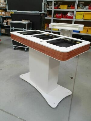 Zcase DJ Booth - Wit fineer