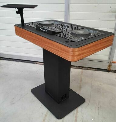 Zcase DJ Booth - Zwart fineer