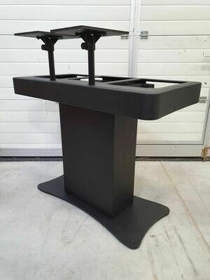 Zcase DJ Booth -2*Table top speler met mengtafel - Wit