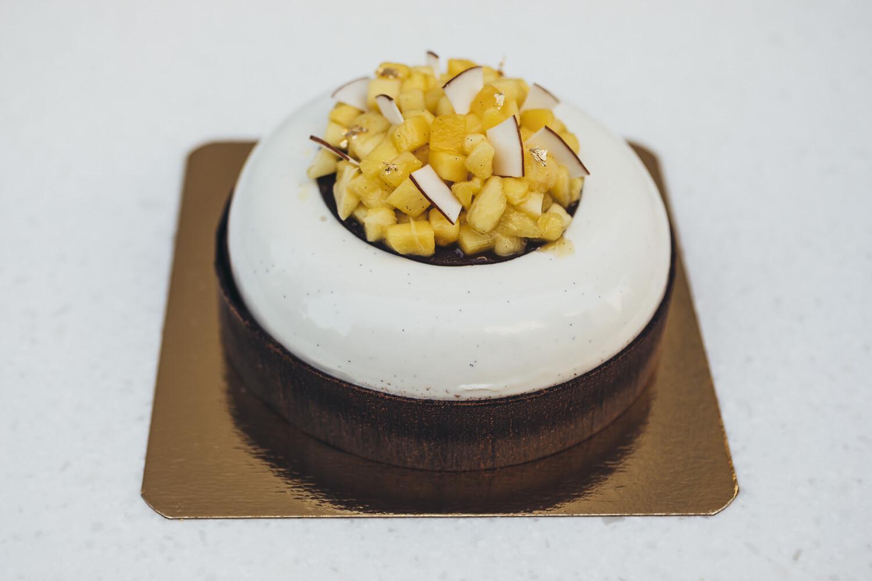 Торт тропические фрукты