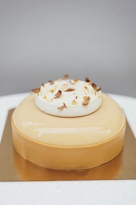 Торт ваниль и карамель