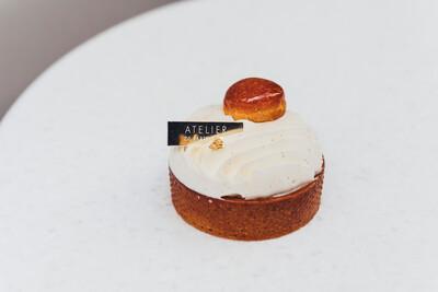 Тарт миндаль-карамель