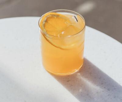 Лимонад из красного апельсина
