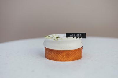 Тарт лайм-базилик