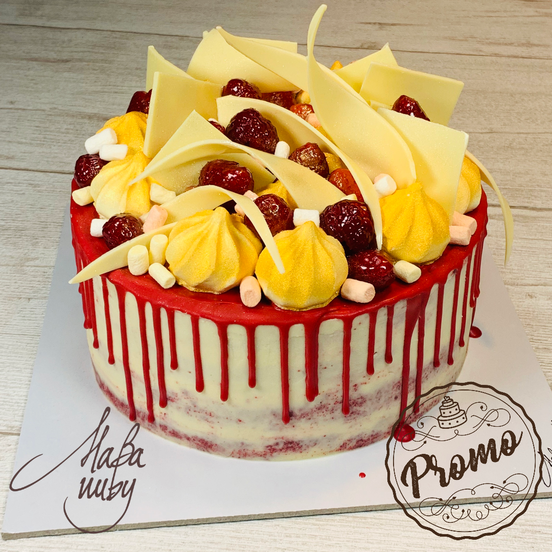 DRIP CAKE | Red Velvet