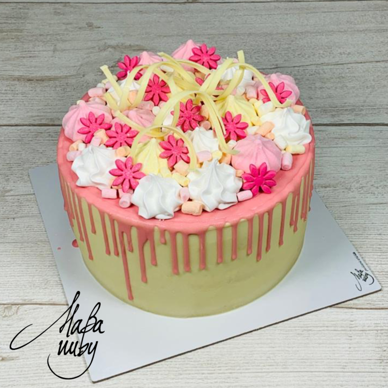 DRIP CAKE | Rosa