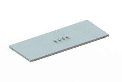 Extra legbord CLIP 80,  B1.000 x D400 mm, Verzinkt