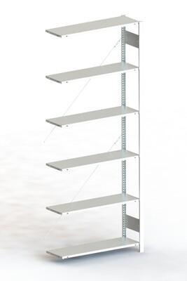 Inhaakstelling S3 CLIP 80, Aanbouwmodule  H2.500 x B1.000 mm, Verzinkt