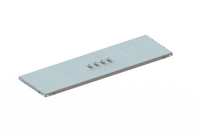 Extra legbord CLIP 80,  B1.000 x D300 mm, Verzinkt