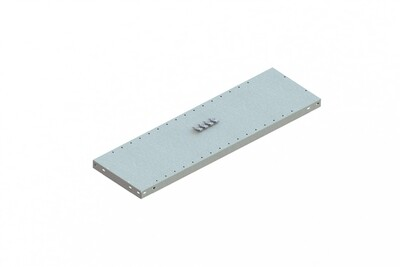Extra legbord CLIP 150,  B1.000 x D300 mm, Verzinkt