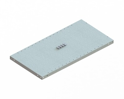 Extra legbord CLIP 150,  B1.000 x D500 mm, Verzinkt