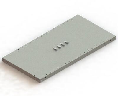 Extra legbord CLIP 230,  B1.000 x D500 mm, Verzinkt