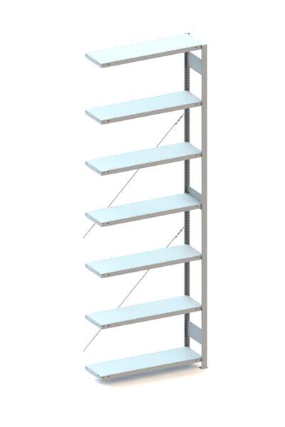 Inhaakstelling CLIP 150, Aanbouwmodule  H3.000 x B1.000 mm, Verzinkt