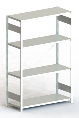 Inhaakstelling CLIP 230, Basismodule  H2.000 x B1.300 mm, Verzinkt
