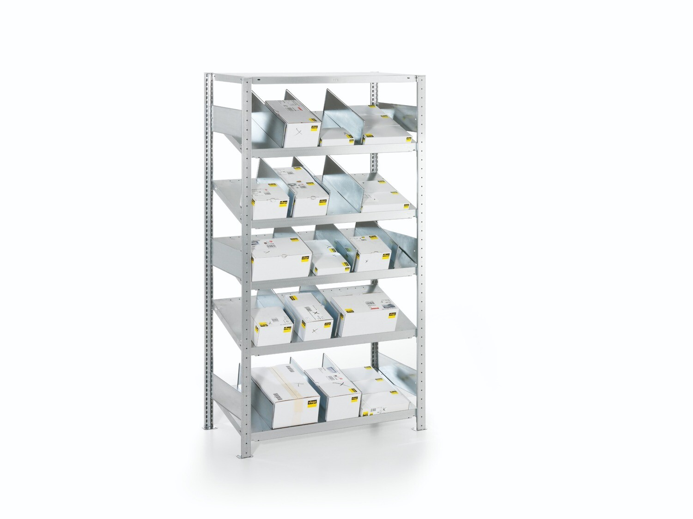 Doorschuifstelling S3, Type M, Basismodule, H2.000 x B1.000 mm, Verzinkt