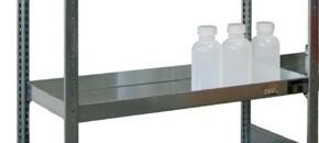 Extra kuiplegbord voor milieustelling  B1.000 x D500 mm, Verzinkt