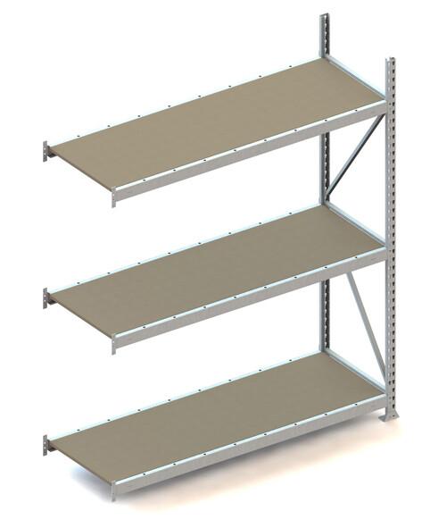 Grootvakstelling, Aanbouwmodule  H2.200 x B1.800 mm, Spaanplaat, Verzinkt