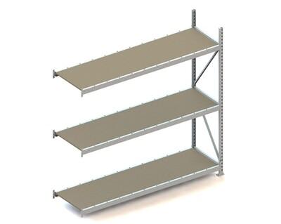 Grootvakstelling, Aanbouwmodule  H2.200 x B2.200 mm, Spaanplaat, Verzinkt