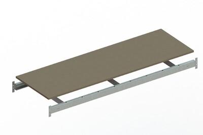 Extra niveau spaanplaat,  B1.800 x D650 mm, Verzinkt