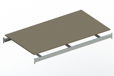 Extra niveau spaanplaat,  B1.800 x D1.050 mm, Verzinkt