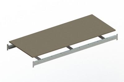 Extra niveau spaanplaat,  B1.800 x D800 mm, Verzinkt